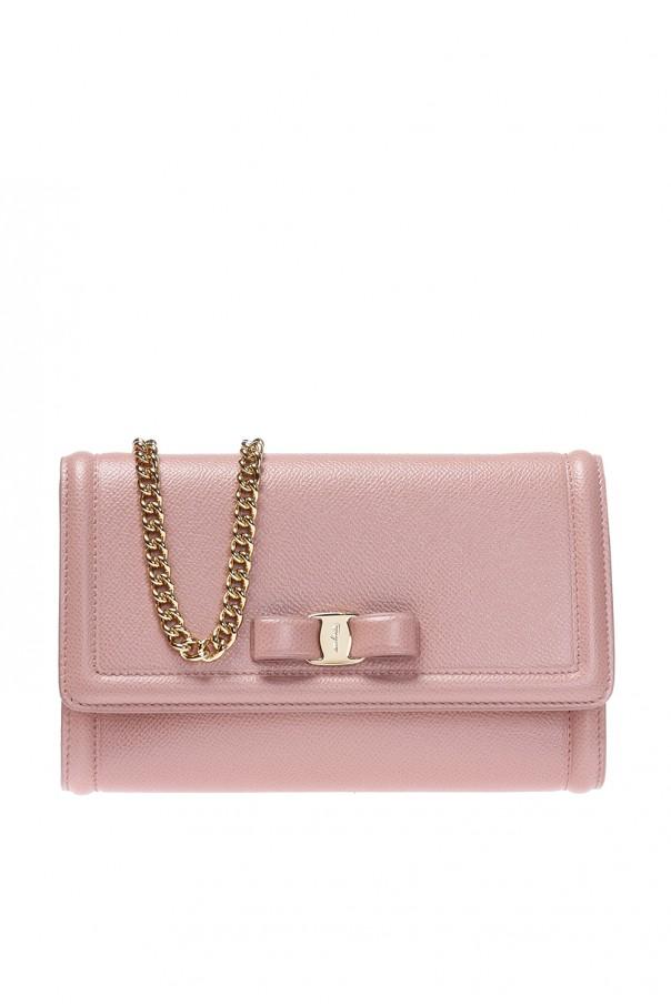 Shoulder bag with bow Salvatore Ferragamo - Vitkac shop online 90e4890501220