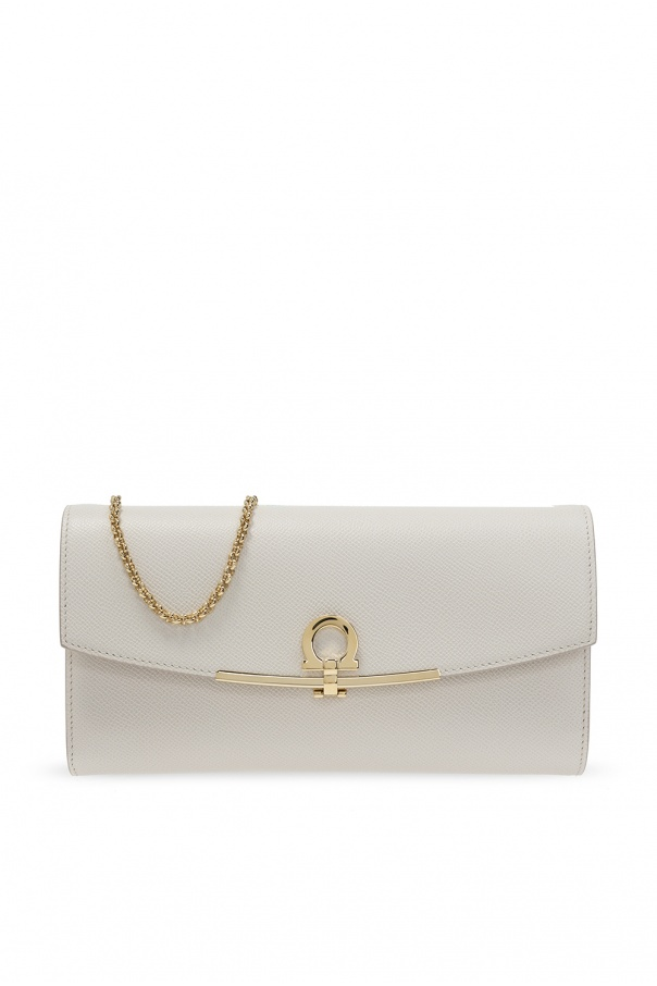 Salvatore Ferragamo Shoulder bag with metal logo