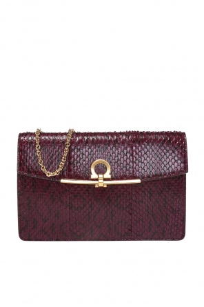 Gancini motif shoulder bag od Salvatore Ferragamo