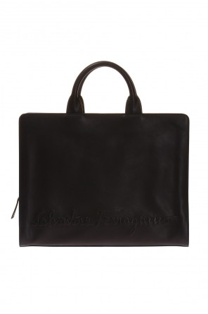 Leather briefcase od Salvatore Ferragamo