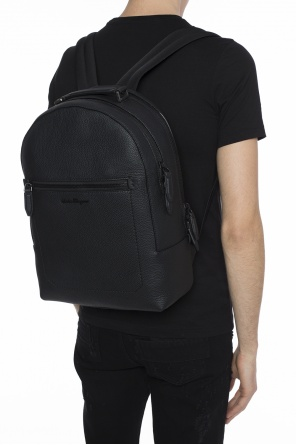 Backpack with metal logo od Salvatore Ferragamo