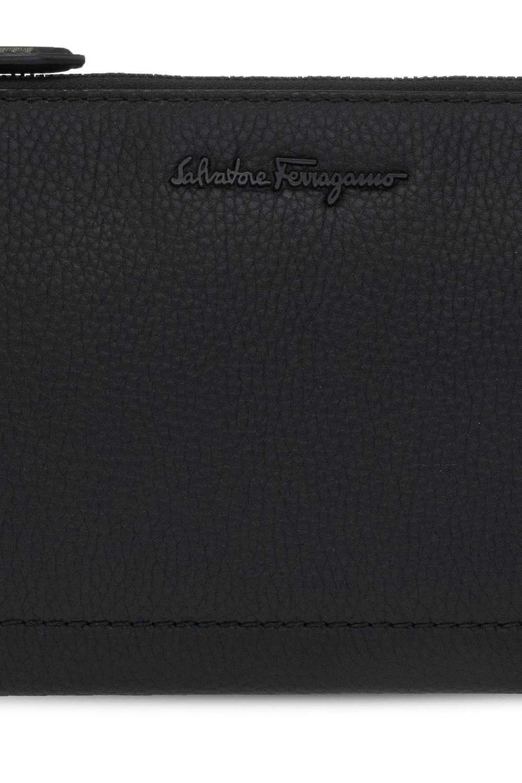 Salvatore Ferragamo Clutch with logo