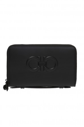 Firenza' clutch bag with a logo od Salvatore Ferragamo