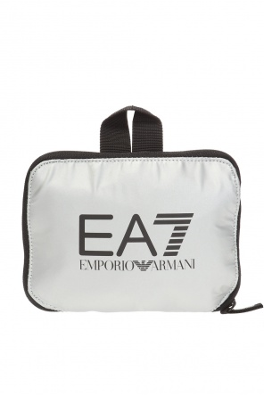 Składana torba na ramię z logo od EA7 Emporio Armani
