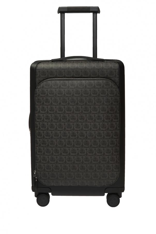 Salvatore Ferragamo Logo suitcase