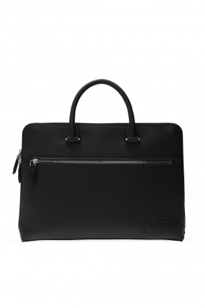 Briefcase with logo od Salvatore Ferragamo