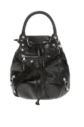 'giant 12' leather shoulder bag od Balenciaga