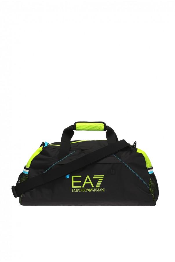 1bf4bb5d574e Logo-printed holdall EA7 Emporio Armani - Vitkac shop online