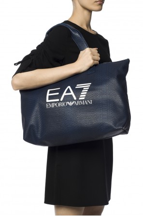 Shoulder bag with logo od EA7 Emporio Armani