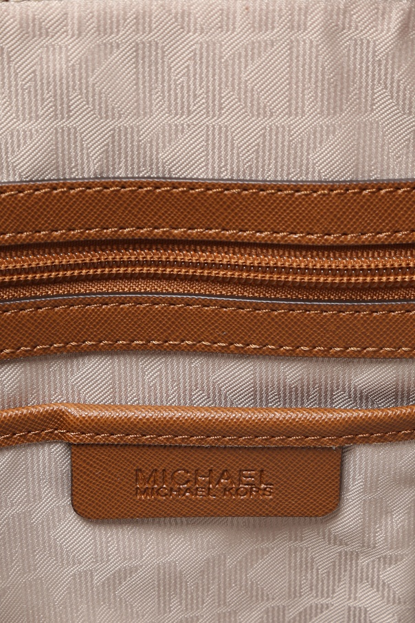'jet set item' leather shoulder bag od Michael Kors