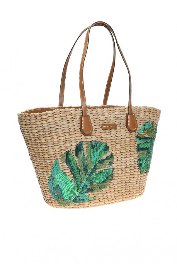 e46e9131bac9 Malibu' straw beach bag Michael Kors - Vitkac shop online