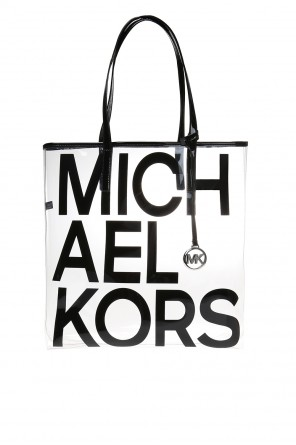 Shoulder bag with a printed logo od Michael Kors