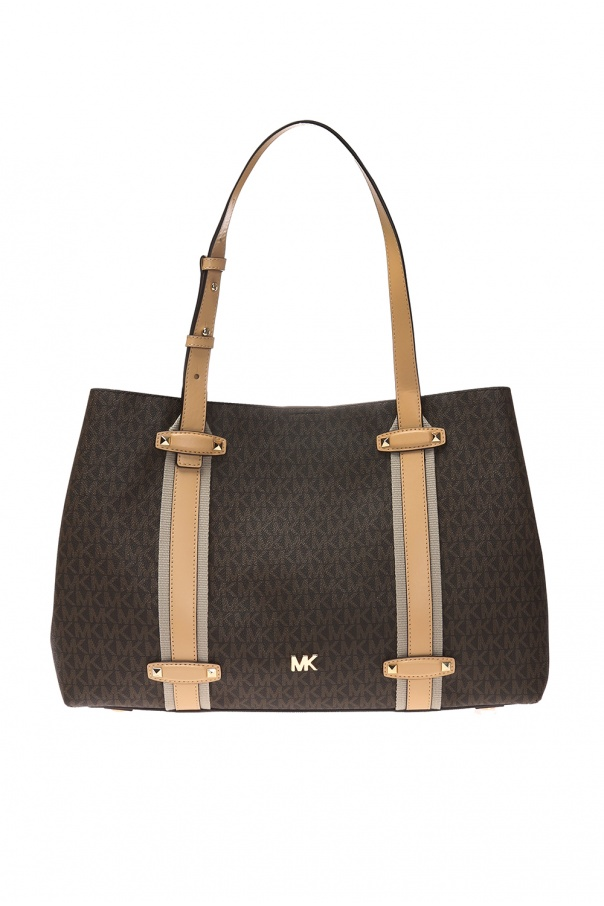 Michael Michael Kors Shoulder bag with a pattern including a logo