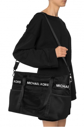 Carryall bag with a printed logo od Michael Kors