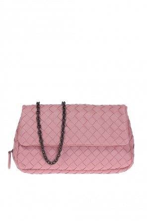 Leather shoulder bag od Bottega Veneta