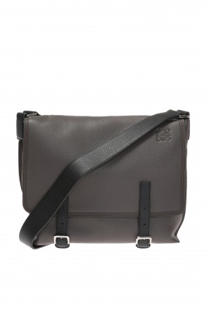 Embossed logo shoulder bag od Loewe