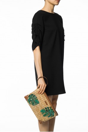 'malibu' sequinned clutch od Michael Kors