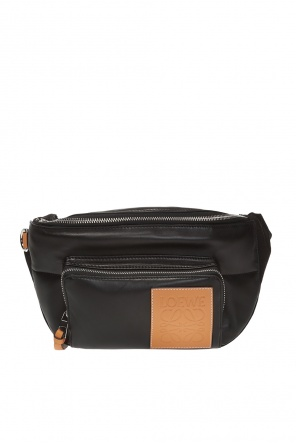 Logo-patched belt bag od Loewe