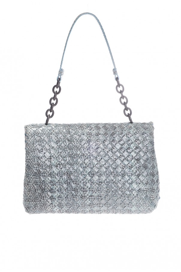 477f18f7545d Olimpia  Leather Shoulder Bag Bottega Veneta - Vitkac shop online