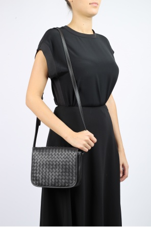 Shoulder bag with fold-over flap od Bottega Veneta