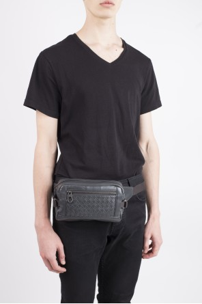 Grey belt bag od Bottega Veneta