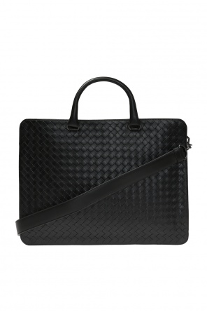 Leather document case od Bottega Veneta
