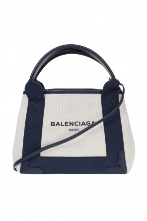 'navy cabas' shoulder bag od Balenciaga