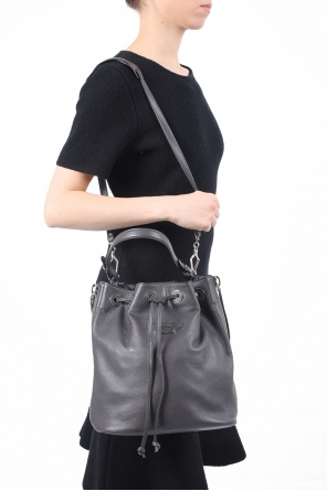Leather bucket bag od Balenciaga