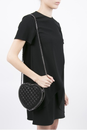 Heart quilted shoulder bag od Stella McCartney