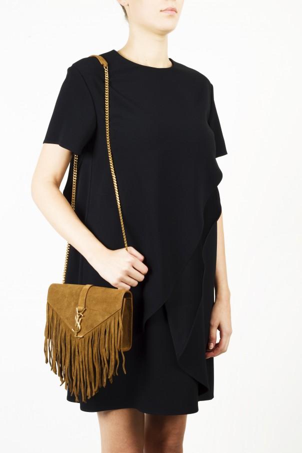 91dac1d2dac6 Fringed  Monogram  Shoulder Bag Saint Laurent Paris - Vitkac shop online