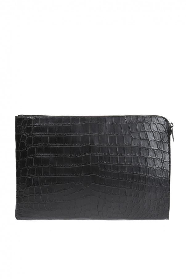 Leather clutch od Bottega Veneta