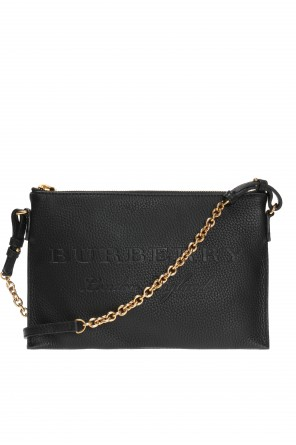 Logo-embossed shoulder bag od Burberry