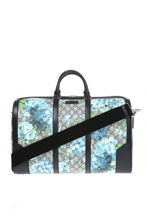'blooms' printed holdall od Gucci