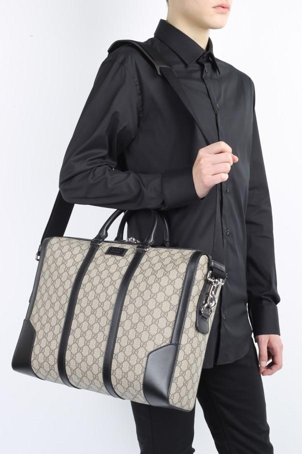 913a34f36 GG Supreme' Briefcase Gucci - Vitkac shop online