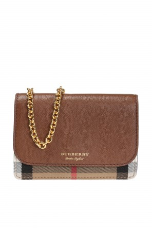 'house check' patterned wallet on chain od Burberry