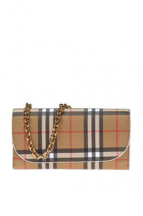 Checked shoulder wallet od Burberry