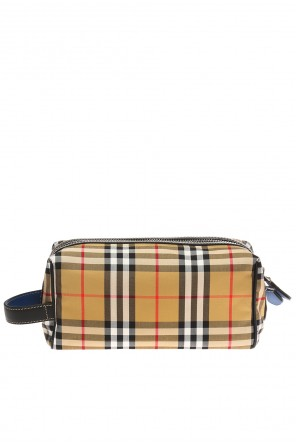 Checked wash bag od Burberry