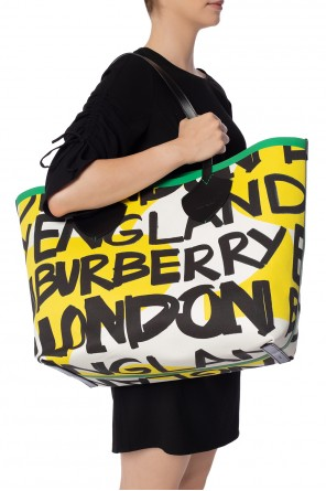 'giant' reversible shopper bag od Burberry
