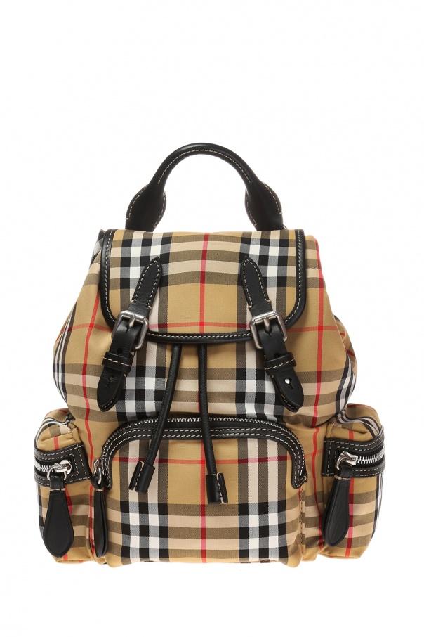 45683bc2331b0 Plecak w kratę Burberry - sklep internetowy Vitkac