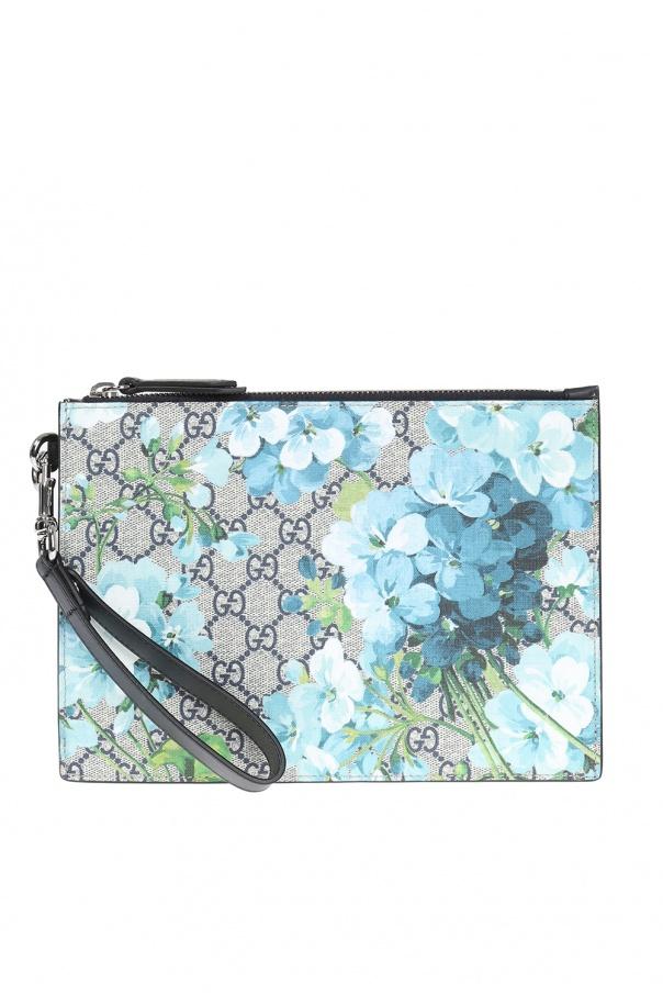 7fb4ed8d7d91 Blooms' printed clutch Gucci - Vitkac shop online