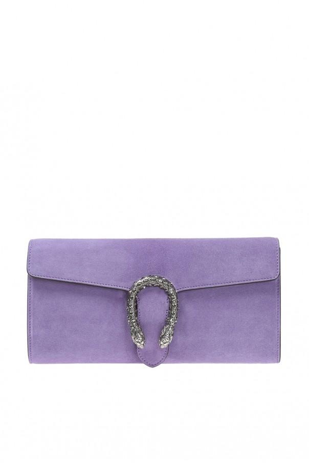 ace12908166 Dionysus  suede clutch Gucci - Vitkac shop online