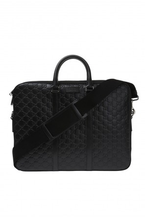 Leather briefcase od Gucci
