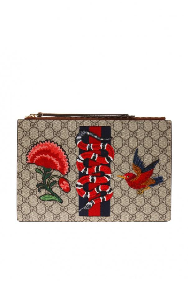 99535de6999f18 Embroidered clutch Gucci - Vitkac shop online