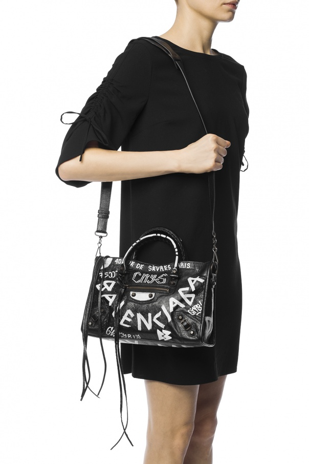 Graffiti Classic City  shoulder bag Balenciaga - Vitkac shop online 3dea8c37389c6