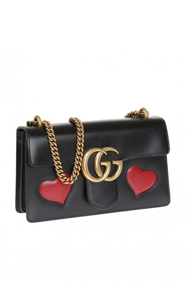 ee91d2d07b3 GG Marmont  embedded shoulder bag Gucci - Vitkac shop online