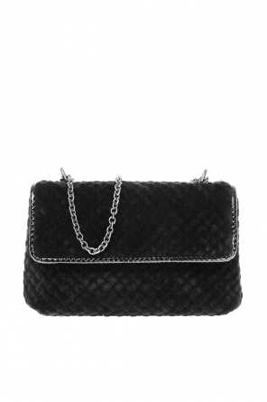 Velvet shoulder bag od Bottega Veneta