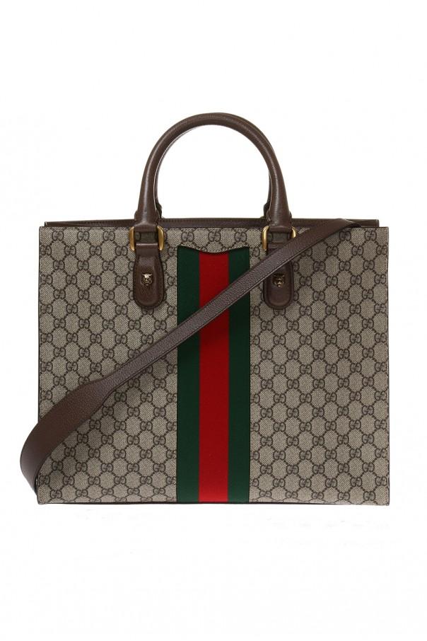 955fe8595a63 Web' motif shoulder bag Gucci - Vitkac shop online