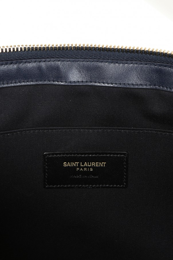 Pikowana kopertówka 'monogram' od Saint Laurent Paris