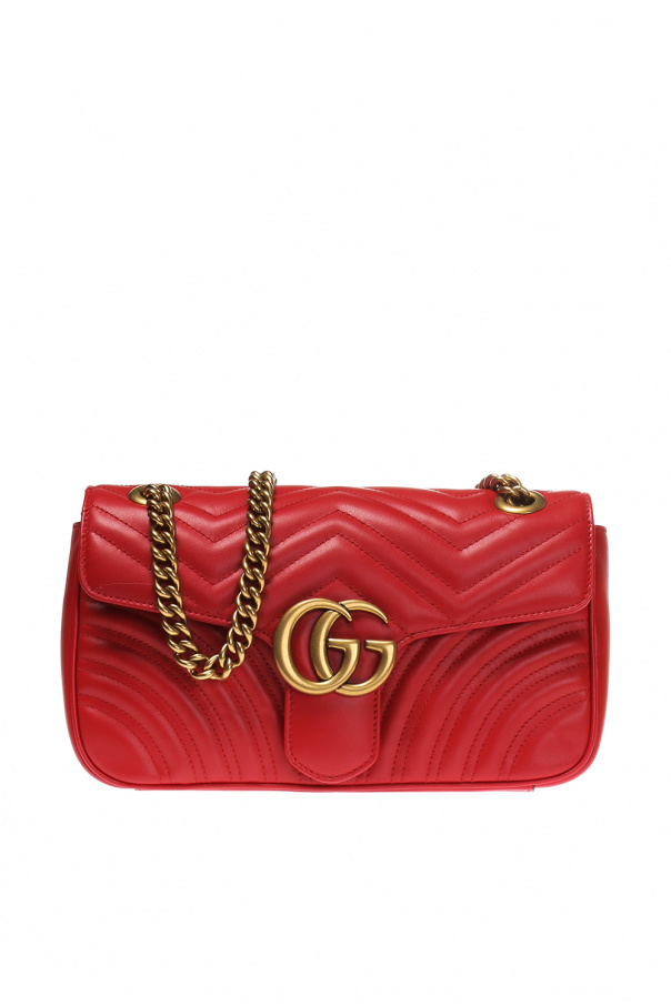 ddfd93fbe6ba GG Marmont' quilted shoulder bag Gucci - Vitkac shop online