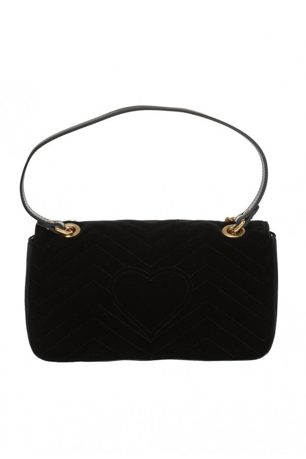 54f6b1f1ddb34 Pikowana torba 'GG Marmont' Gucci - sklep internetowy Vitkac